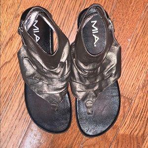 Mia cute sandals 8 bronze cover